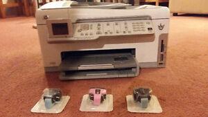 HP  C7200  color  printer/ imprimier  colour