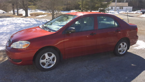 2007 Toyota Corolla  .. Extremely Low Mileage
