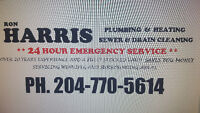 24 Hour  Plumbing and Heating  and Sewer and  Drain  Cleaning