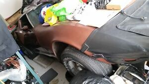 1975 Corvette 4 speed running project