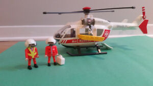 playmobile helicoptere 4222