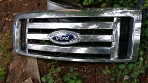 F 150 bumpers n a grill