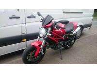 2013 - DUCATI MONSTER 796 WITH ARROW RACE EXHAUSTS, £5,750 OR FLEXIBLE FINANCE