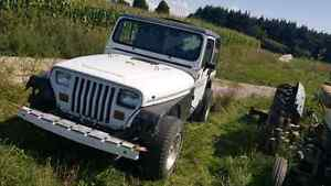 1992 jeep yj renegade part out