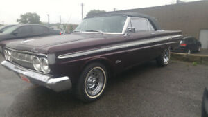 1964 mercury comet caliente xxxtra clean
