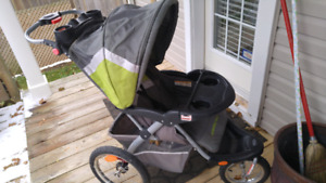 Baby trend expedition stroller combo