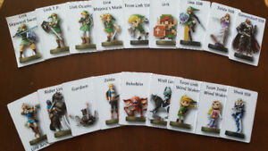 Amiibo Zelda BOTW pack and all others Amiibo available