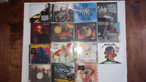 CD ASSORTIS VENDANT COMME UN LOT/ASSORTED CD'S SELLING AS A LOT