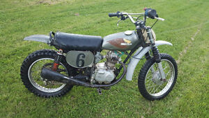 Classic Dirt Bike Ready to Ride or Restore
