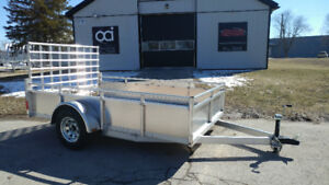 Aluminum Utility Trailers - BLOW OUT SALES ONLY 4 LEFT!!!!