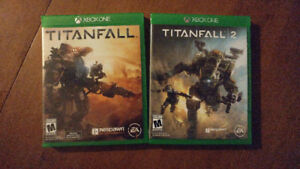 Selling xbox one games . titanfall 1&2