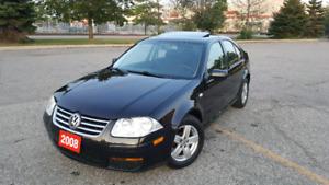 2008 Volkswagen Jetta CITY W/SUNROOF!!!