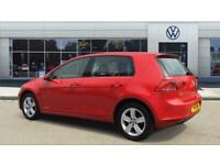 2016 Volkswagen Golf 1.4 TSI 125 Match Edition 5dr DSG Petrol Hatchback Auto Hat
