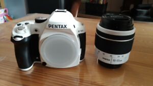 Stormtrooper white PENTAX K-50 Camera with 18-55mm F3.5-5.6 WR