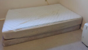 Queen size firm mattress