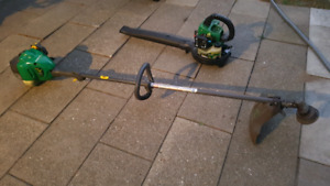 Weedeater blower and trimmer