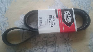 "G37 serpentine belt  ""new"""