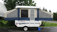 2006 Lite Weight Flagstaff 8ft Box Tent Trailer-available july 5
