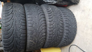 5x115 Winter tires and Rims: Hankook Winter I*Pike 215/60R15