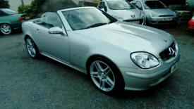 04 Mercedes SLK230 Auto Convertible 74000 Mls History Very Nice Car