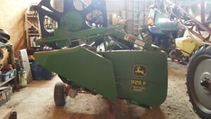 john deere 925f grain head