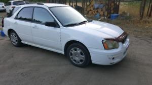 2004 Subaru Impreza 249XXX km AWD