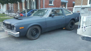plymouth volare 1978 Plaqué !! PROJET