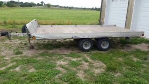 Triton 3 atv trailer tandom axle 128-2