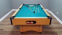 4x7 Billiards Pool Table W/ Acessories