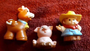 FISHER PRICE LITTLE PEOPLE OR FISHER PRICE ANIMALS- CHOOSE