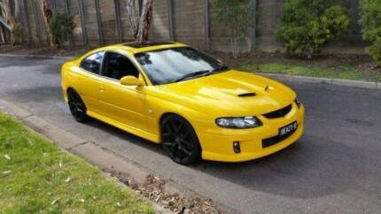 2005 Holden Monaro YELLOW AUTO-EXCELLENT Condition-ServiceHISTORY Laverton Wyndham Area Preview