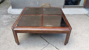 Coffee Table Solid Wood. NO SURFACE MIRRORS