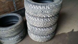 Set of 4 BFGoodrich All Terrain TA LT225/70R16 tires (65% tread