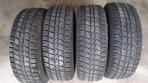 Winter Tires on Rims 235/70/R16 Arctic Claw Barely Used