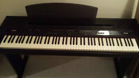 Yamaha YPP-200 Digital Piano + foot pedal and PA5D power adapter