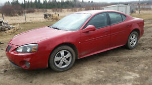 2008 Pontiac Grand Prix SE Sedan 4200 obo
