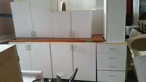 2 White Kitchens - Great for Nanny Suite or Basement Apt.