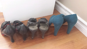 Heels! Sizes 5 and 6 $7 each