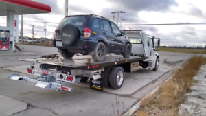 Tow Truck Services - Flatbed Towing - 24/7
