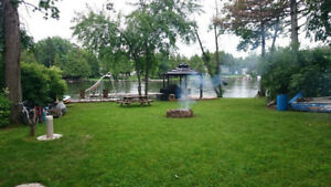 Trent River Waterfront Cottage For Sale-Furnished