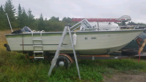 Open bow 20' boat project