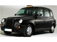Black cab driver required, for day time shifts 4am- 4pm, cheap rates at £40 per day