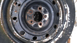 Steel rims dodge Caravan Cambridge Kitchener Area image 1