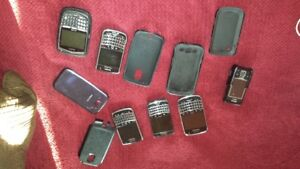 Blackberry Phones hardly Used.  BOLDS