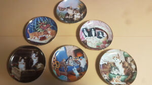 Franklin Mint Collection, limited edition decorative plates (6)