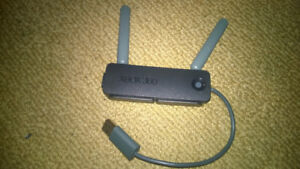Wireless 'N' Network Adaptor with Dual Antenna for Xbox 360