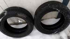 2 20 INCH TRUCK TIRES FOR SALE