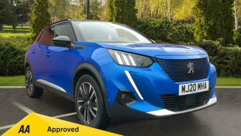 2020 Peugeot 2008 SUV 100kW GT Line 50kWh Automatic Electric Estate