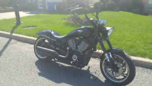 Victory Hammer S with 14 inch Apes chopper Harley