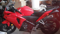 2013 Honda Cbr250r with several mods